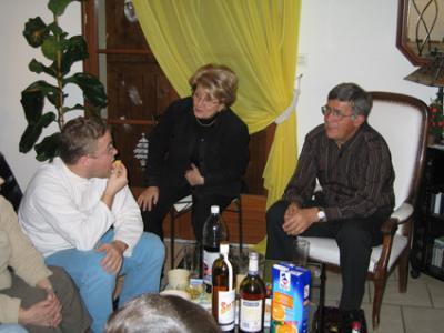 Nicolas, Jean et Bernadette
