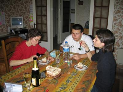 Marie Josée, Caroline et Raphaël