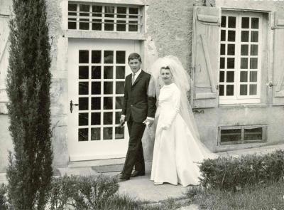 Moncharmont-Jean-et-Bernadette-Mariage 1