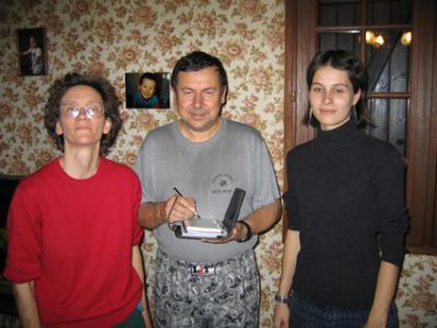Marie Josée, Patrick et Caroline